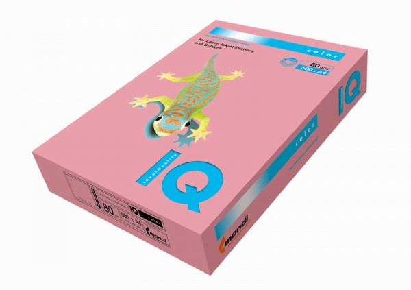 Hartie colorata - Roz A4 - 160 g/mp
