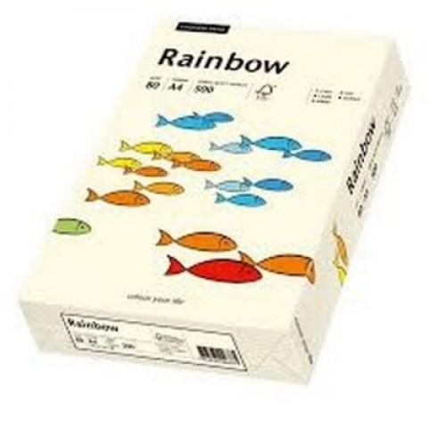 Hartie colorata, crem, A4, 80 g/mp, Rainbow