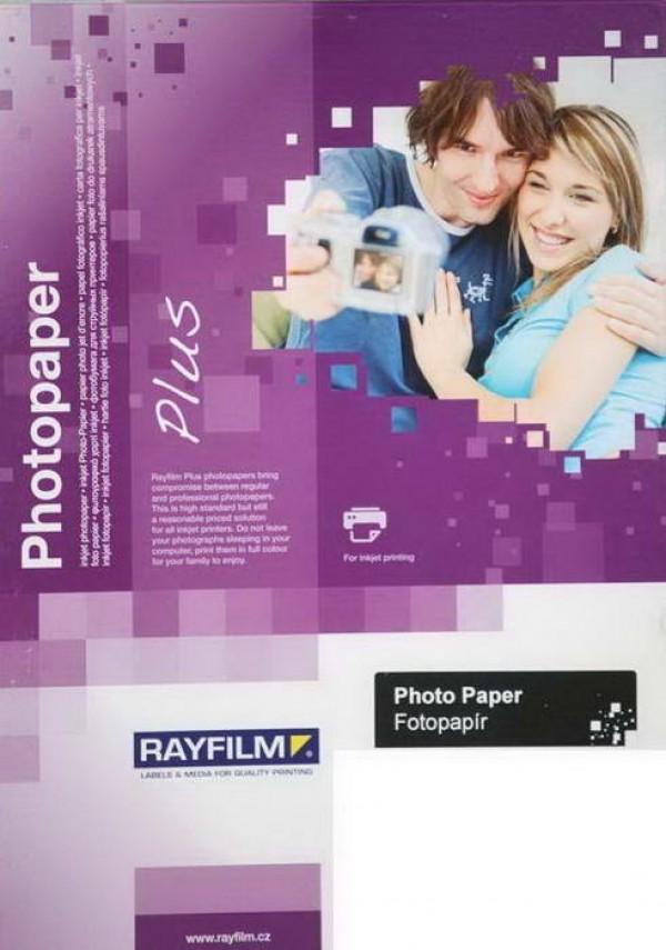 Hârtie inkjet, hârtie foto alba lucioasa, A4, 170 g/mp