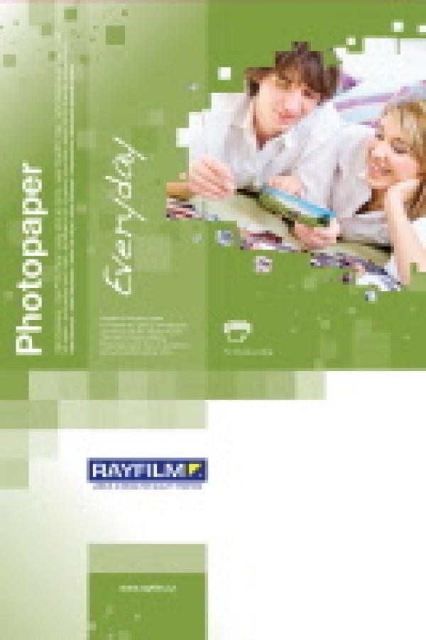 Hârtie inkjet, hârtie foto lucioasa, 10x15 cm, 190 g/mp