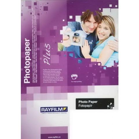 Hârtie foto inkjet - hârtie foto alba lucioasa - A4 - 170g/mp