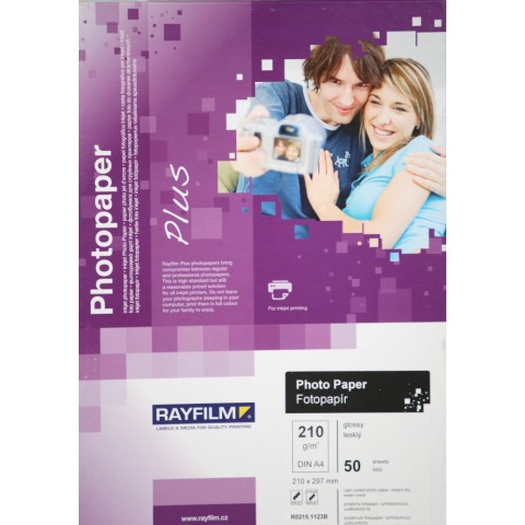 Hârtie inkjet, hârtie foto mată, A4, 170 g/mp