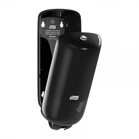 Dispenser pentru sapun lichid, negru, Tork S1