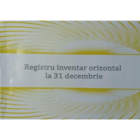 Registru inventar orizontal, 31 dec