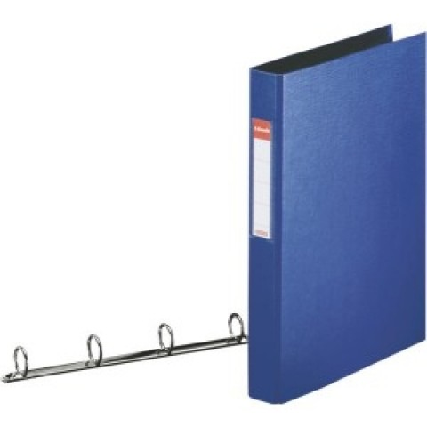 Caiet mecanic A4, 4 inele, albastru Esselte Standard