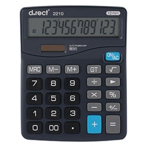 Calculator 12 digits D.rect 2210