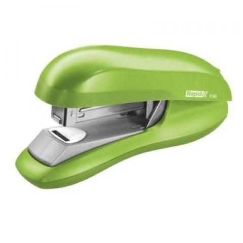 Capsator verde 24/6, 30 coli, capsare plata, Rapid F30