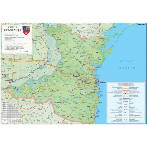Harta - judeţul Constanta