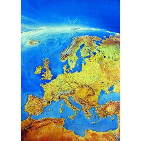 Europa – harta panoramică