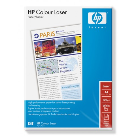 Hartie HP Color Laser - A4 - 120 g/mp