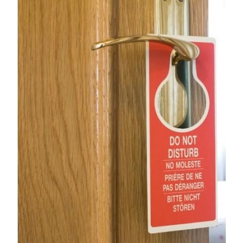 Semn usa - door hanger, 145 μ, 190 g/mp, A4, 100 coli