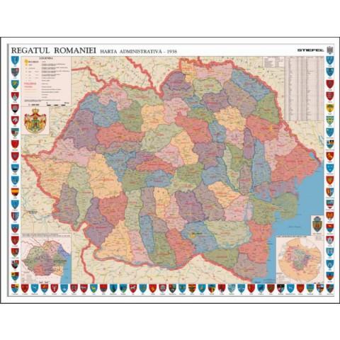 Romania Interbelica – Mapa de birou