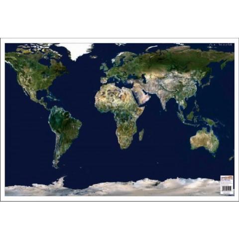 Lumea Imagine din Satelit – Mapa de birou