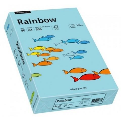 Hartie colorata, albastru pal, A3, 80 g/mp,  Rainbow