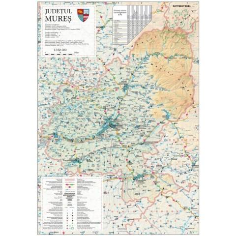 Harta - judeţul MUREŞ