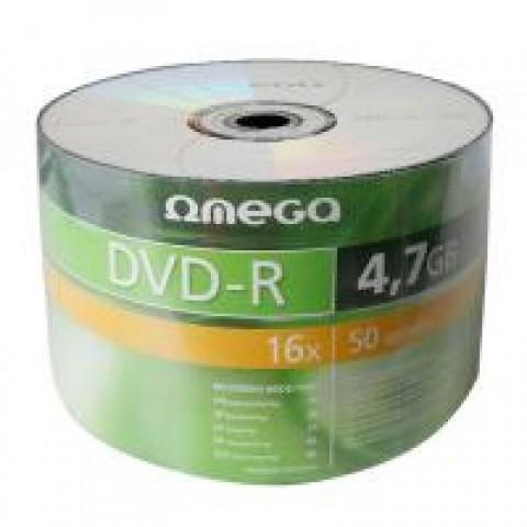 DVD-R 50/set Omega 16X 4,7GB