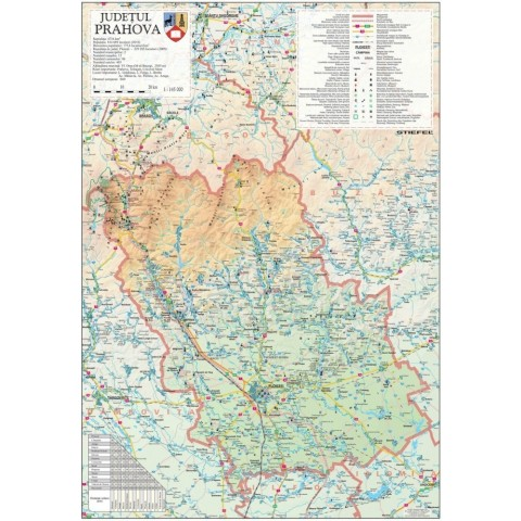 Harta - judeţul PRAHOVA