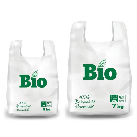 Pungi Biodegradabile, 600X320 mm, 7 kg