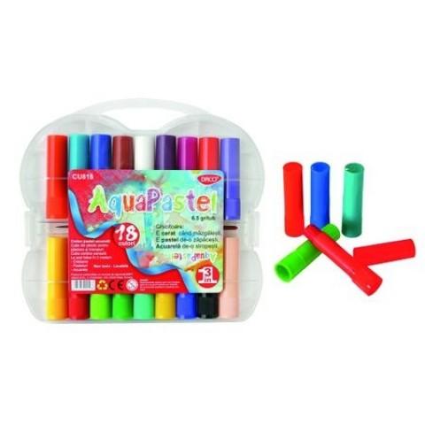 Creion Color 18 Pastel Acuarela Aquapastel Daco