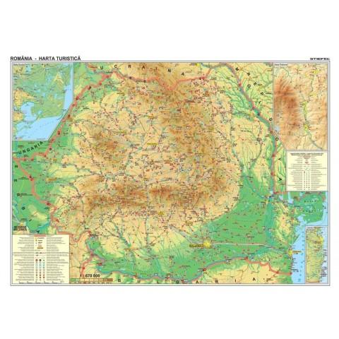 Romania – harta turistica