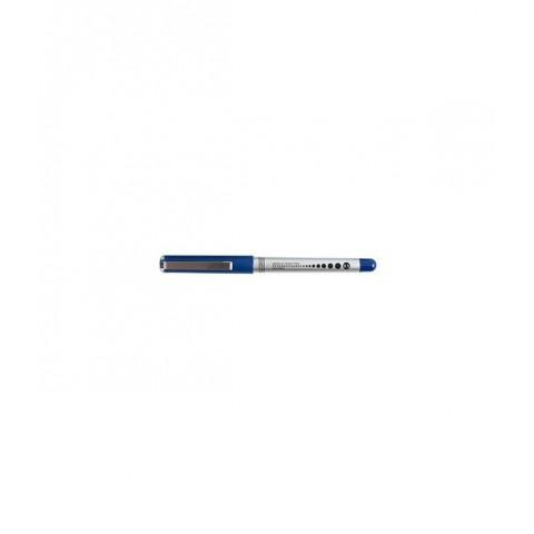 Roller cu cerneala 0.5mm Aihao AH-2004, D.rect - albastru