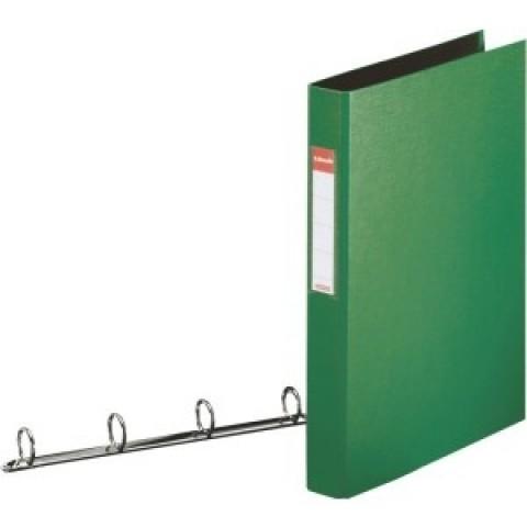 Caiet mecanic A4, 4 inele, verde Esselte Standard