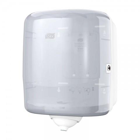 Dispenser prosoape hartie cu derulare centrală, porție cu porție, Reflex, Tork