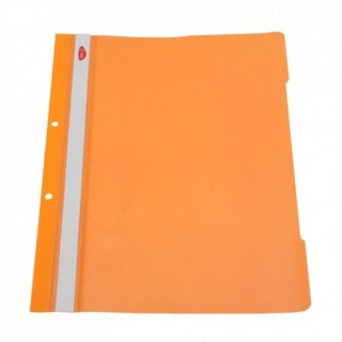 Dosar plastic cu sina, portocaliu, Daco
