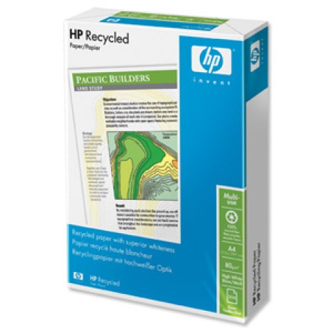 Hartie reciclata marca HP, format A4