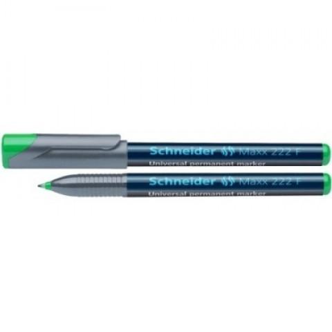 Marker OHP Schneider, F 222, verde 0.7mm