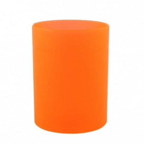 Suport cilindric, instrumente de scris, portocaliu, Ecada