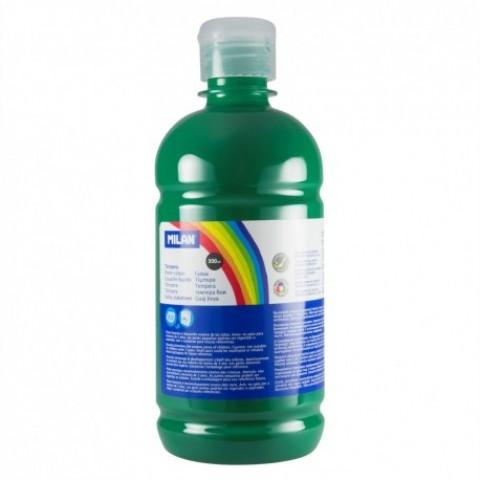Tempera, 500 ml, verde inchis, Milan