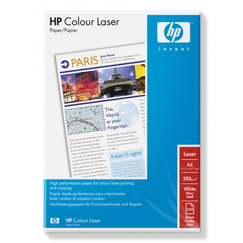Hartie HP Color Laser, A4, 200 g/mp