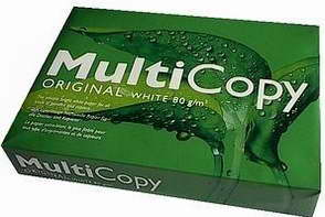 Hârtie Copiator, MultiCopy A4, 80 g/mp, 500 coli/top